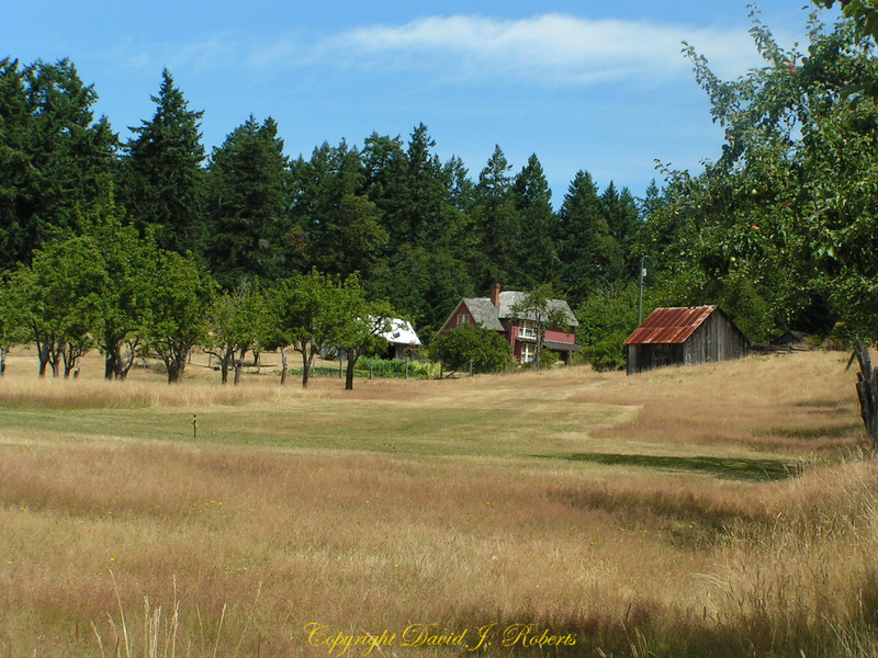 Farm on Salt Spring Island, British Columbia