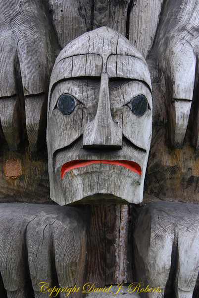 Totem Pole in Duncan BC