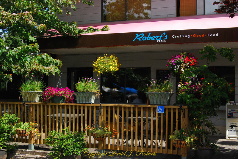 Robert's Restauarant Gabriola Island