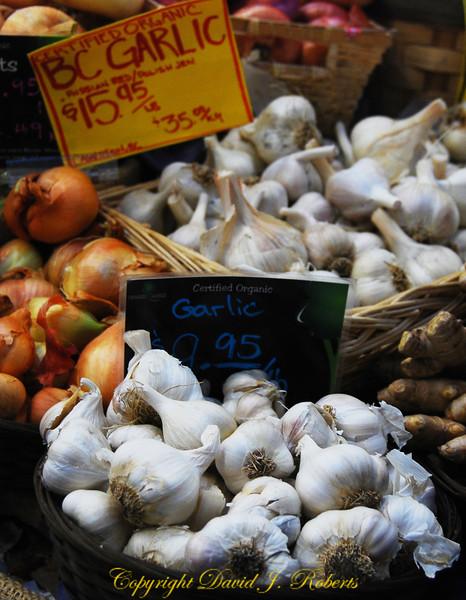 Granville Island - Garlic