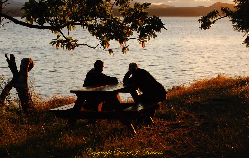 Quiet contemplation on Descanso Bay