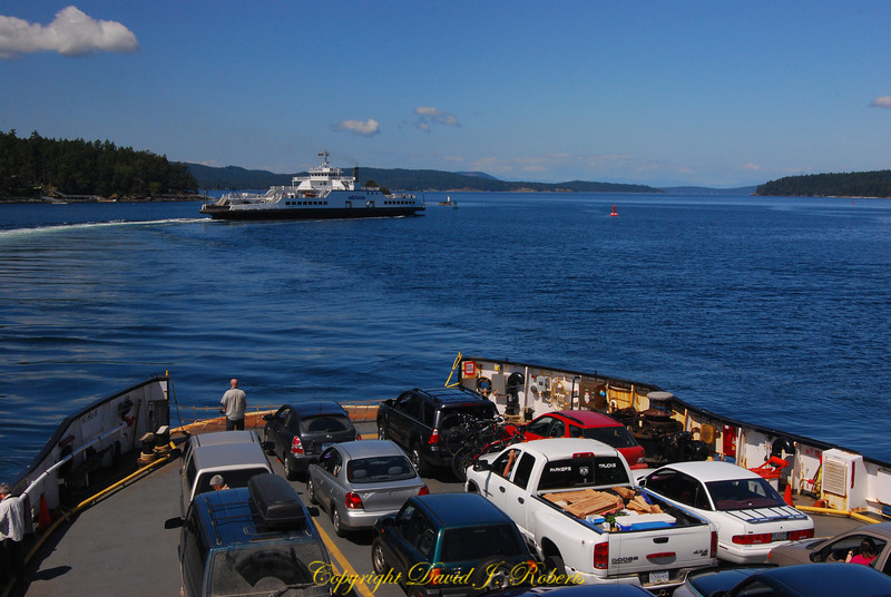 Ferry from Swartz Bay