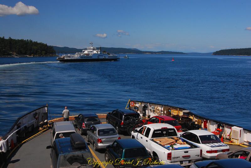 Ferry from Swartz Bay
