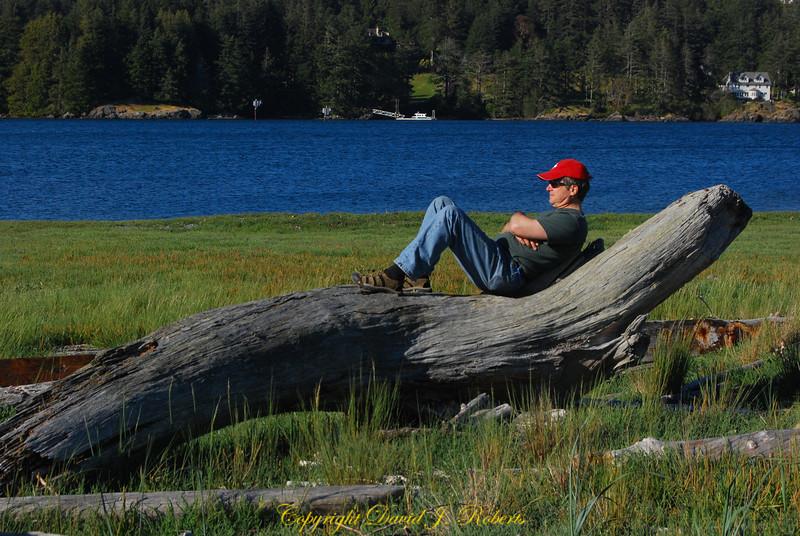 David Roberts at Sooke Bay BC