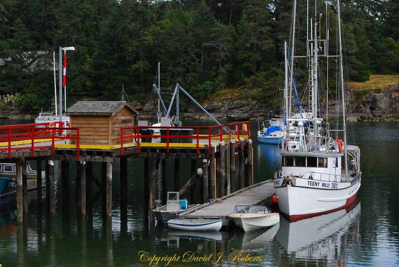 Government Dock Degnen Bay Gabriola Is