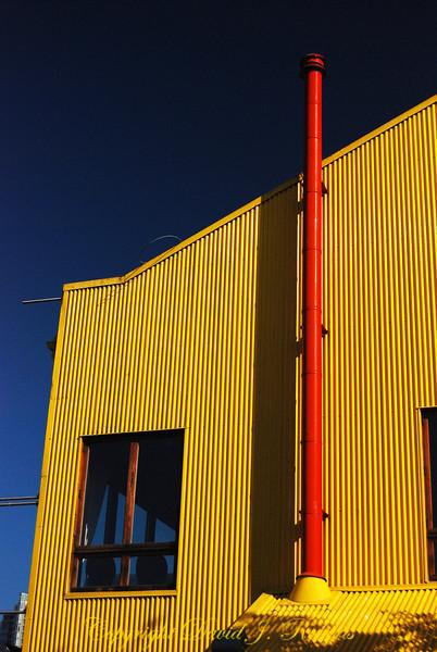 Granville Island - Yellow building