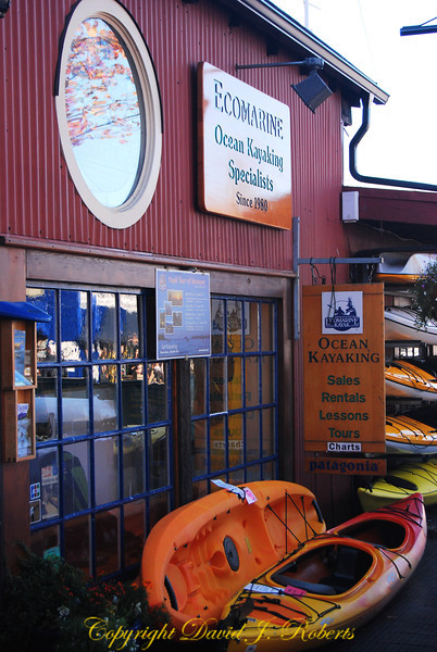 Ecomarine Kayak sales on Granville Island