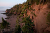 The Hopewell Rocks, also called the Flowerpot Rocks or simply The Rocks, are rock formations caused by tidal erosion