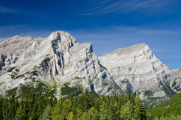 The Power of Nature visible in the Rocky Mountains