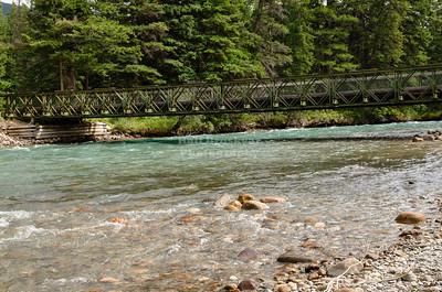 The 6th bridge of the Maligne Canyon