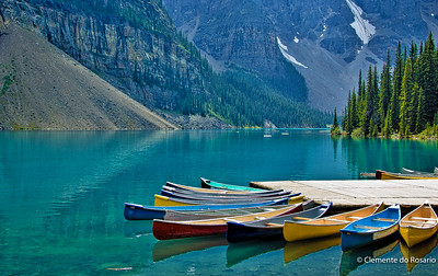 Moraine Lake, Banff National Park,Alberta