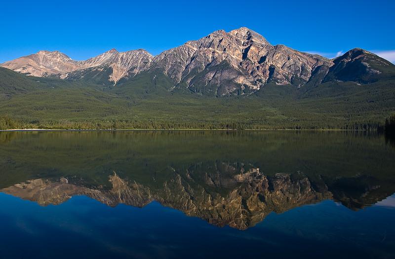 Pyramid Lake, Jasper National Park, Alberta,Canada
