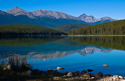 Pyramid Lake, Jasper National Park, Alberta,Canada