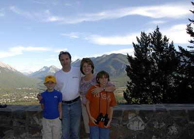 Family at Banff