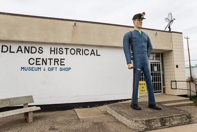 The Badlands Historical Centre