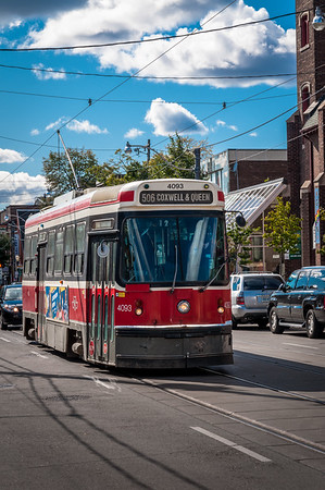 CLRV Streetcar 4093