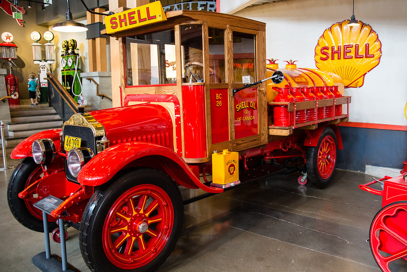 1926 White Shell Tanker
