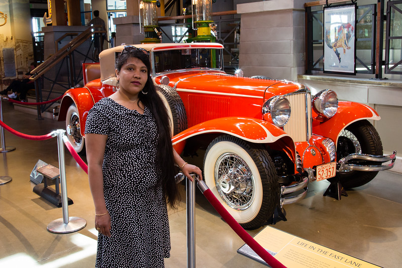 Urvi with 1931 Cord L-29