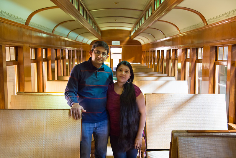 At Railway Car Shop - Heritage Park