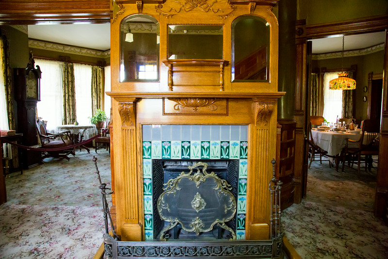 1894 Fireplace - Prince House