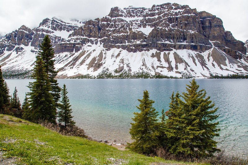 Bow Lake / Bow Glacier from Icefield Parkway