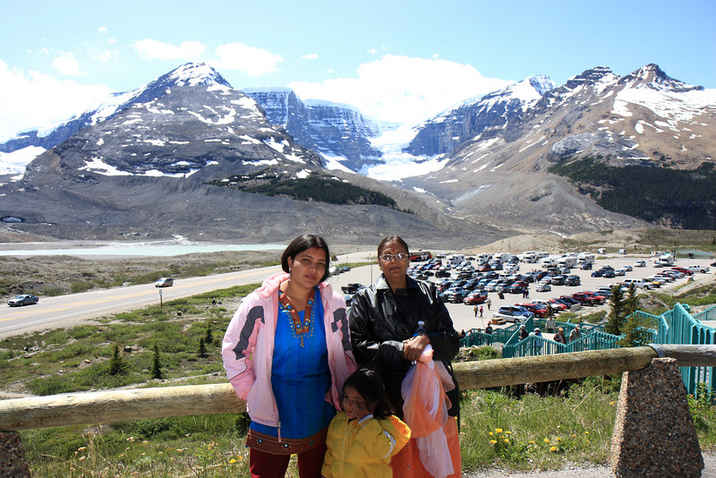 View from Columbia Icefield Centre
