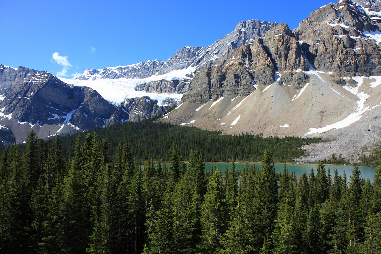 Bow Glacier & Bow Lake