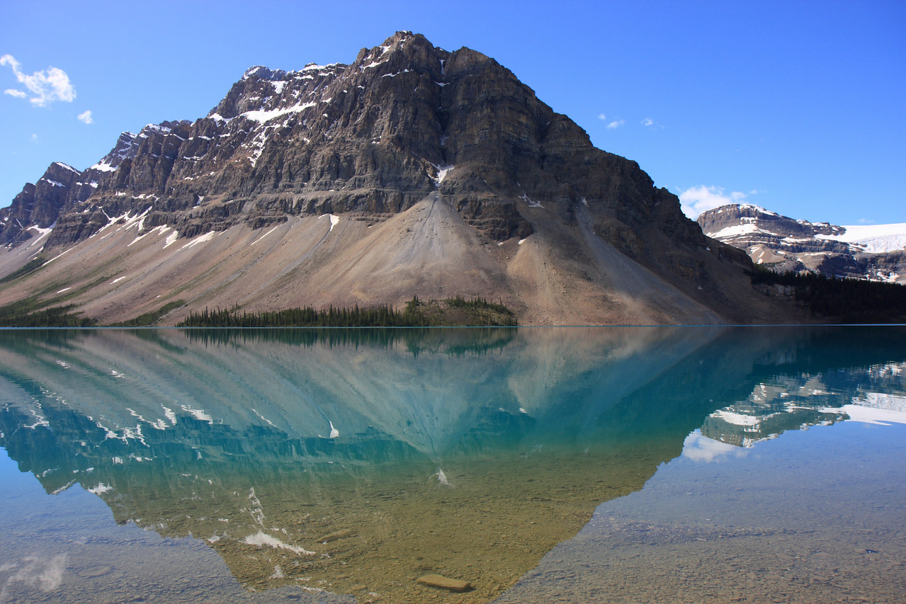 Bow lake & Bow Glacier
