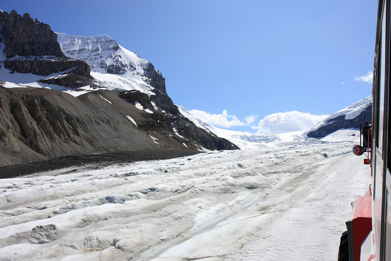 Columbia Icefield Glacier Tour Bus