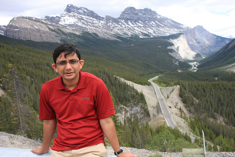 At Icefield Parkway