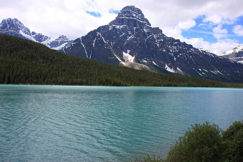 Waterfowl Lake on Icefield parkway