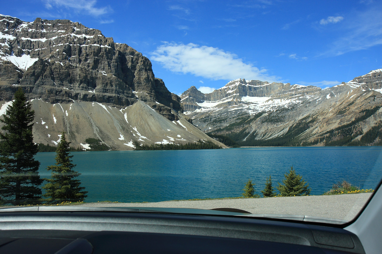 Bow Lake from Icefield Parkway