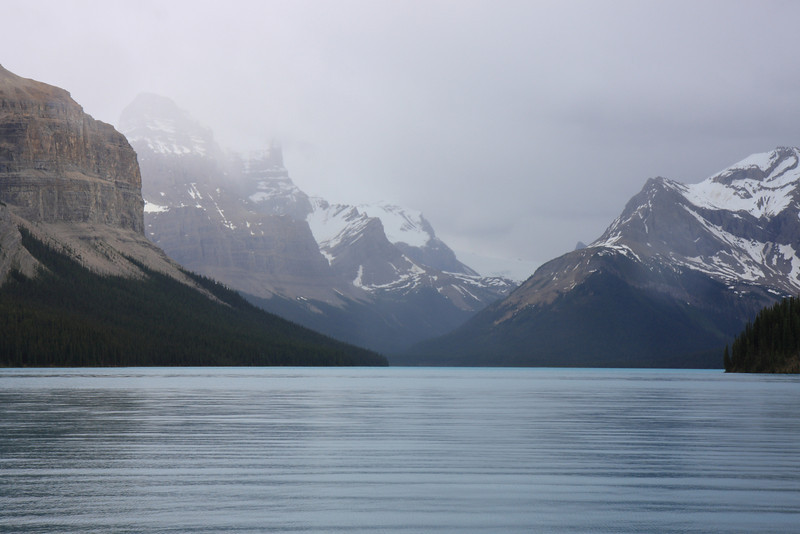 View from Maligne Lake Boat Tour