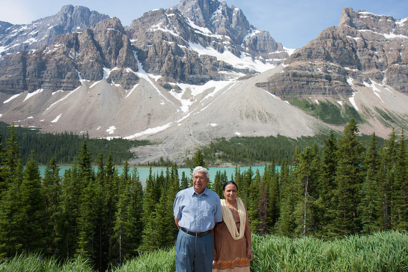 Bow lake / Bow Glacier on Icefield Parkway
