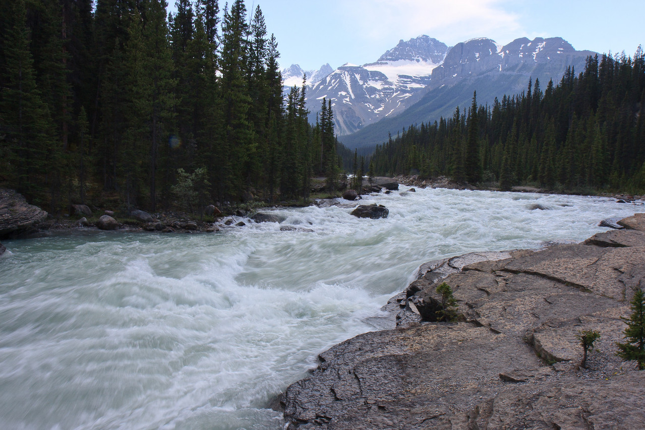 Mitsaya Canyon on Icefield Parkway