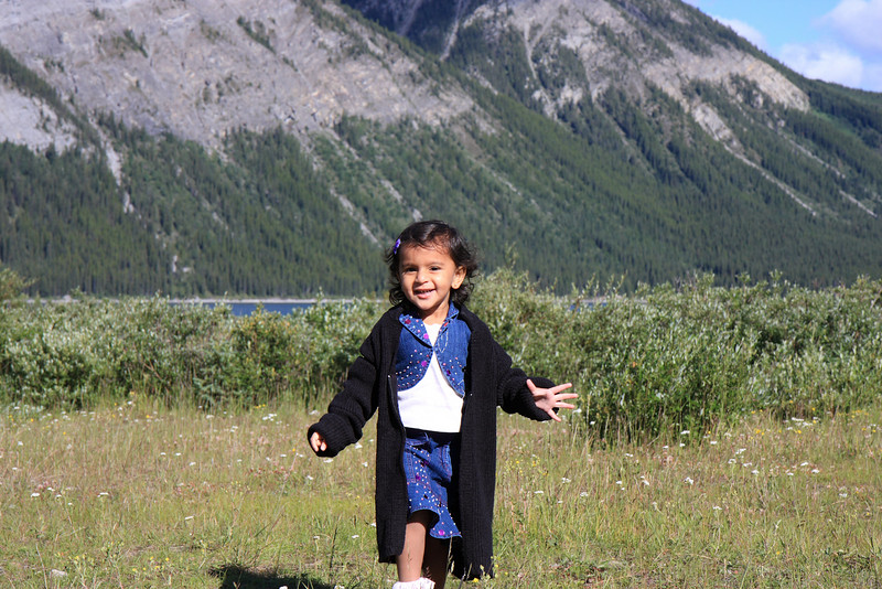 Sakshi Near Lower Lake, Kananaskis