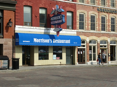 July 19/14 - Morrison's Restaurant on King St. E., home of our Saturday morning breakfast