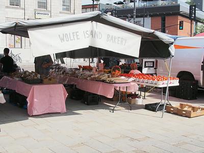July 19/14 - Saturday morning Farmer's Market in Springer Market Square, Kingston
