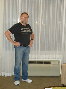 July 18/14 - Our room (#204) at the Delta Kingston Waterfront Hotel