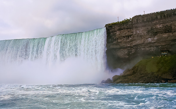 Horseshoe Falls From The Maid of The Mist