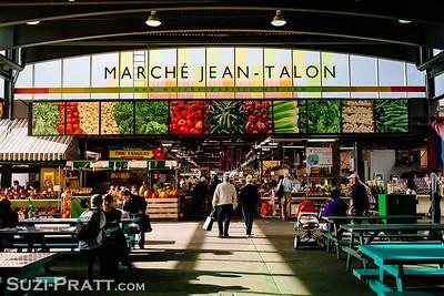 Marche Jean-Talon in Montreal, Quebec, Canada