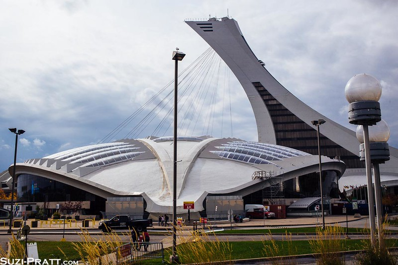 BioDome from 1976 Olympics in Montreal, Quebec, Canada
