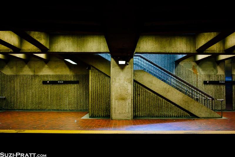 Subway in Montreal, Quebec, Canada
