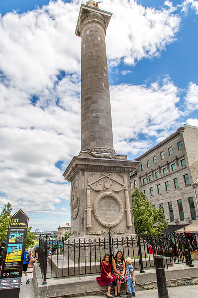 In Memory of the ADMIRAL LORD VISCOUNT NELSON DUKE of BRONTE who terminated his career of naval glory in the Battle of Trafalgar on 21-Oct-1805. This monumental pillar was erected in the year 1808.
