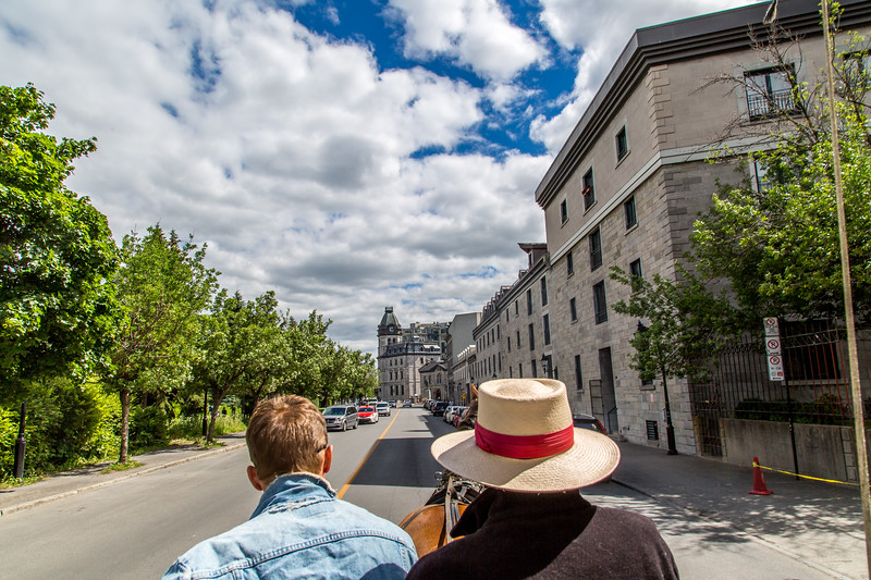 Old Montreal City Tour on Horse Carriage