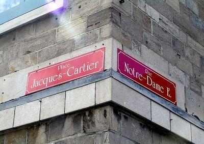 Place Jacques-Cartier meets Rue Notre Dame E.