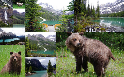 Canada (provinces, cities and national parks)