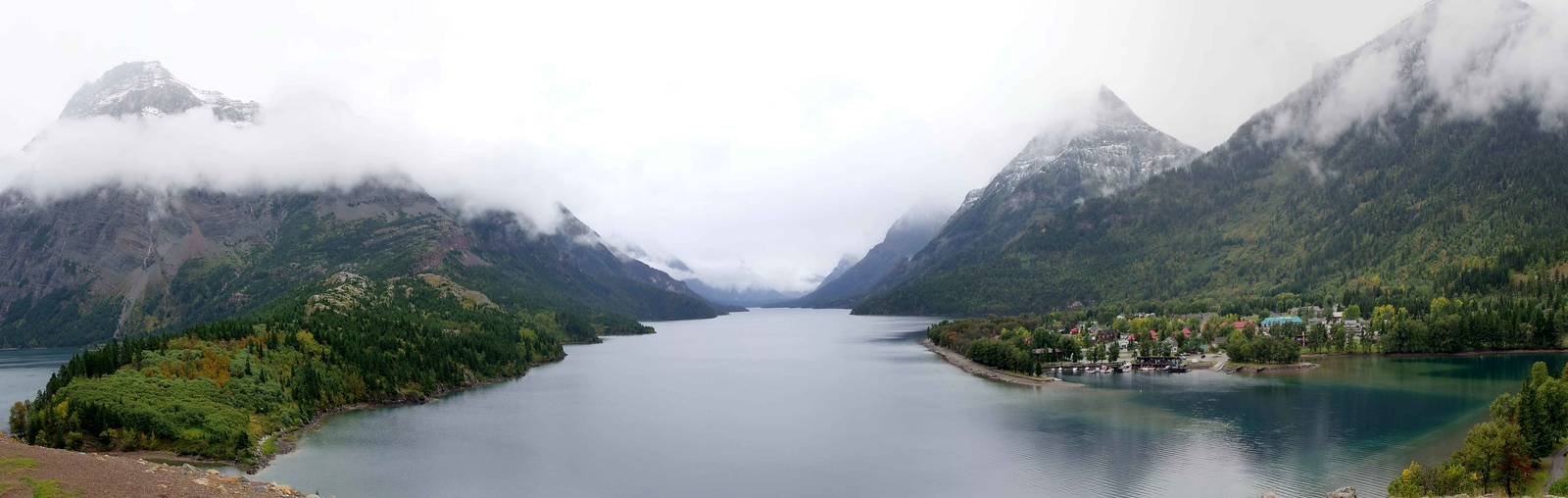 Middle Waterton Lake