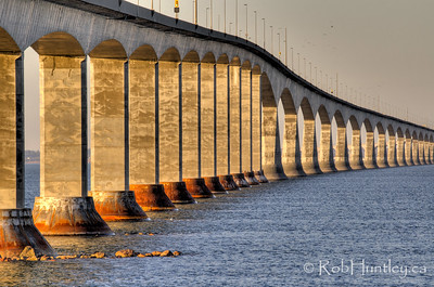 Confederation Bridge, New Brunswick. © Rob Huntley