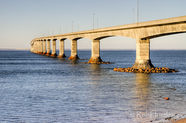 Confederation Bridge, New Brunswick.